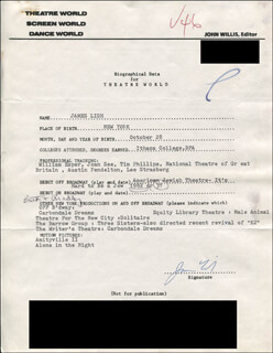 JAMES LISH - TYPED RESUME SIGNED
