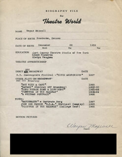 WAYNE MAXWELL - TYPED RESUME SIGNED