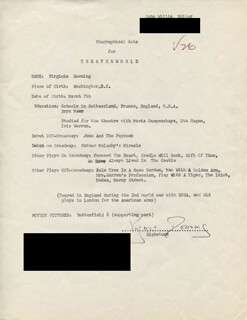 VIRGINIA DOWNING - TYPED RESUME SIGNED