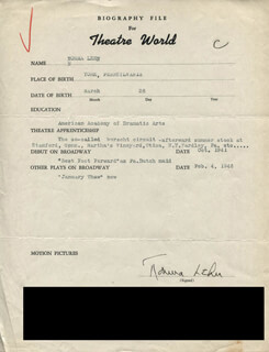NORMA LEHN - TYPED RESUME SIGNED