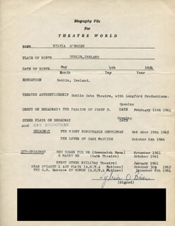 SYLVIA O'BRIEN - TYPED RESUME SIGNED