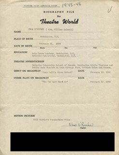 EDNA O'ROURKE - TYPED RESUME SIGNED