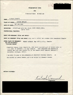 RICHARD CURNOCK - TYPED RESUME SIGNED