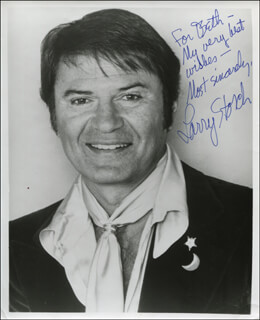 LARRY STORCH - AUTOGRAPHED INSCRIBED PHOTOGRAPH