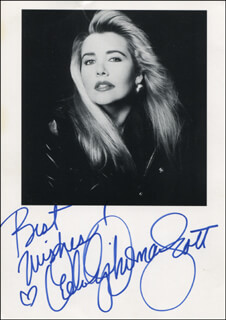MELODY THOMAS - AUTOGRAPHED SIGNED PHOTOGRAPH