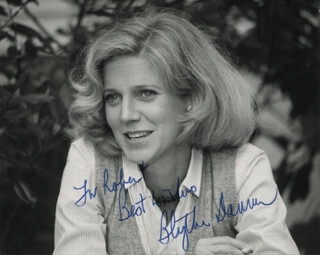BLYTHE DANNER - AUTOGRAPHED INSCRIBED PHOTOGRAPH