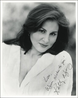 KATHY NAJIMY - AUTOGRAPHED INSCRIBED PHOTOGRAPH