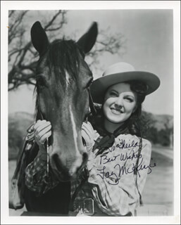 FAY McKENZIE - AUTOGRAPHED INSCRIBED PHOTOGRAPH