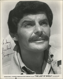 RICHARD BENJAMIN - AUTOGRAPHED INSCRIBED PHOTOGRAPH