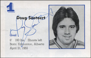 DOUG SOETAERT - MAGAZINE PHOTOGRAPH SIGNED