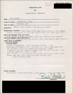 BILL STEELE - TYPED RESUME SIGNED