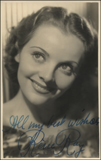 RENE RAY - AUTOGRAPHED SIGNED PHOTOGRAPH