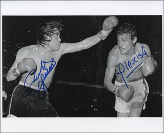 Autographs: ALEXIS ARGUELLO - PHOTOGRAPH SIGNED CO-SIGNED BY: RUBEN OLIVARES