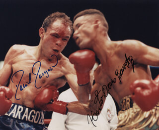 DANIEL ZARAGOZA - AUTOGRAPHED SIGNED PHOTOGRAPH CO-SIGNED BY: HECTOR ACERO-SANCHEZ