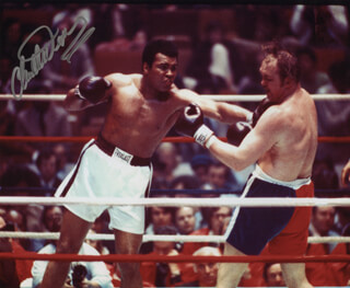 CHUCK WEPNER - AUTOGRAPHED SIGNED PHOTOGRAPH