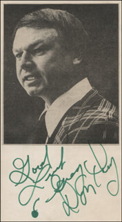 DON CHERRY - AUTOGRAPH NOTE SIGNED