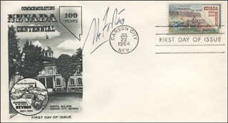 ASSOCIATE JUSTICE ABE FORTAS - FIRST DAY COVER SIGNED