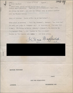 ST. CLAIR BAYFIELD - TYPED RESUME SIGNED