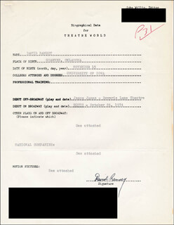 DAVID RAMSEY - TYPED RESUME SIGNED