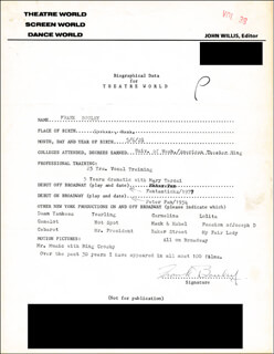 FRANK BOULEY - TYPED RESUME SIGNED