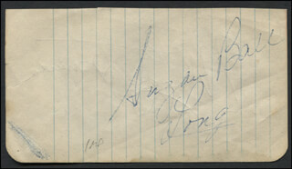 SUZAN BALL - AUTOGRAPH CO-SIGNED BY: MARGARET TRUMAN