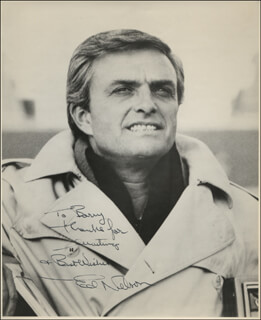 ED NELSON - AUTOGRAPHED INSCRIBED PHOTOGRAPH