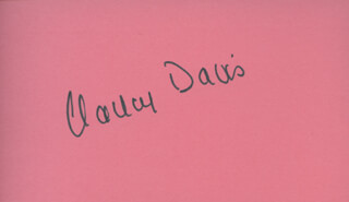 FIRST LADY NANCY DAVIS REAGAN - AUTOGRAPH