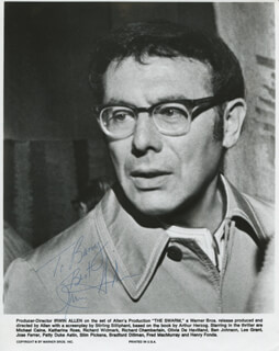 IRWIN ALLEN - AUTOGRAPHED INSCRIBED PHOTOGRAPH