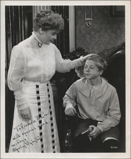 SPRING BYINGTON - AUTOGRAPHED INSCRIBED PHOTOGRAPH