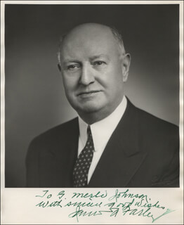 JAMES A. FARLEY - AUTOGRAPHED INSCRIBED PHOTOGRAPH