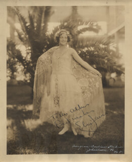 ELSIE JANIS - AUTOGRAPHED INSCRIBED PHOTOGRAPH
