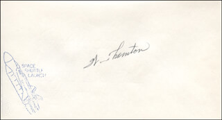 WILLIAM E. THORNTON - ENVELOPE SIGNED