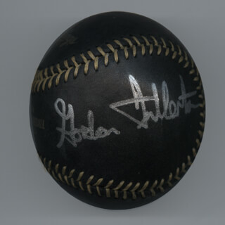 COLONEL C. GORDON FULLERTON - AUTOGRAPHED SIGNED BASEBALL