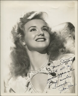 JOAN ROBERTS - AUTOGRAPHED INSCRIBED PHOTOGRAPH