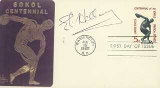 SIR EDMUND P. HILLARY - FIRST DAY COVER SIGNED