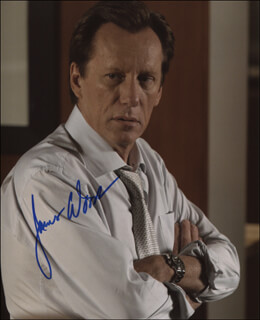 JAMES WOODS - AUTOGRAPHED SIGNED PHOTOGRAPH