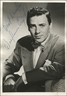 WILLIAM EYTHE - AUTOGRAPHED SIGNED PHOTOGRAPH