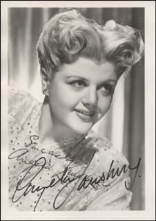 ANGELA LANSBURY - PRINTED PHOTOGRAPH SIGNED IN INK