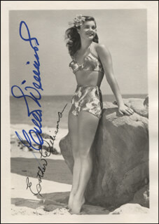 ESTHER WILLIAMS - PRINTED PHOTOGRAPH SIGNED IN INK
