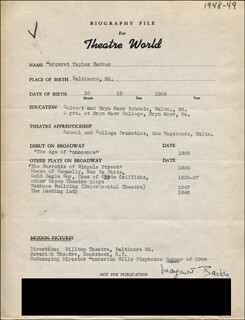 MARGARET BARKER - TYPED RESUME SIGNED