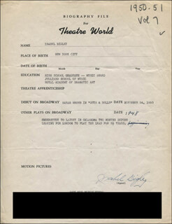 ISABEL BIGLEY - TYPED RESUME SIGNED