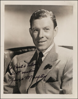 GEORGE MURPHY - AUTOGRAPHED INSCRIBED PHOTOGRAPH