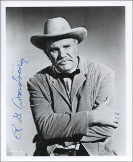 R. G. (ROBERT GOLDEN) ARMSTRONG - AUTOGRAPHED SIGNED PHOTOGRAPH