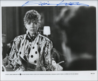 DIANE KEATON - AUTOGRAPHED SIGNED PHOTOGRAPH