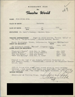 ALNEY ALBA - TYPED RESUME SIGNED