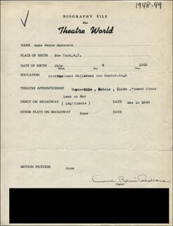ANNE RENEE ANDERSON - TYPED RESUME SIGNED