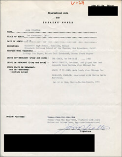 JOHN STRATTON - TYPED RESUME SIGNED