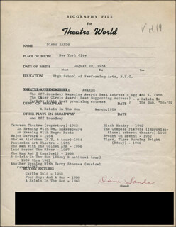 DIANA SANDS - TYPED RESUME SIGNED
