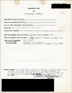 DOTTS JOHNSON - TYPED RESUME SIGNED