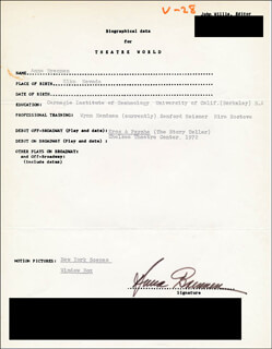 ANNA BRENNEN - TYPED RESUME SIGNED